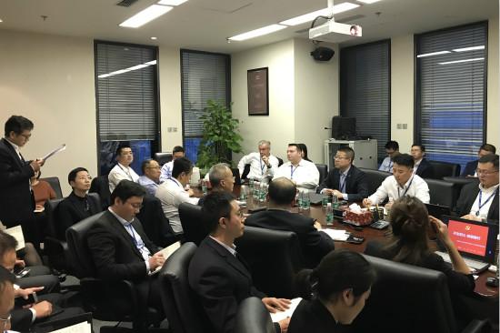 酒店管理公司分党委召开学习党的十九大精神专题座谈会