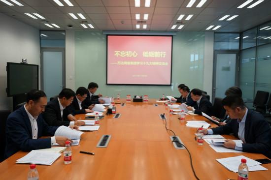 网科集团分党委组织学习十九大精神
