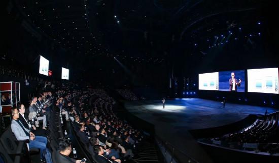 西门子全球年会盛典在汉秀剧场举行