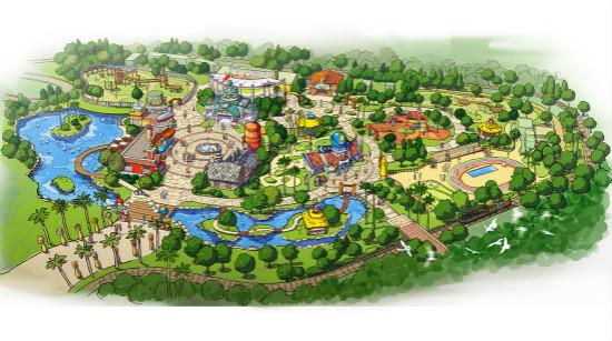 广州万达乐园动物区建筑方案移交通过签批