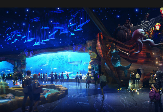 昆明万达城娱雪和海洋乐园供电方案确定