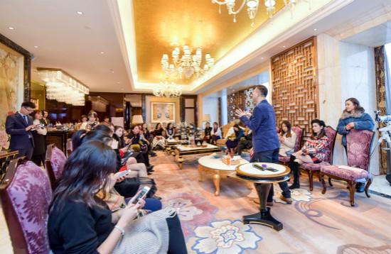 长沙万达文华酒店举办下午茶活动