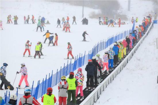 长白山冰雪世界迎来GOSKI首滑活动