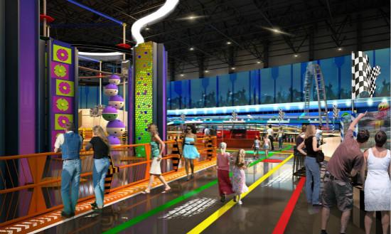 广州万达体育乐园包装方案签批完成