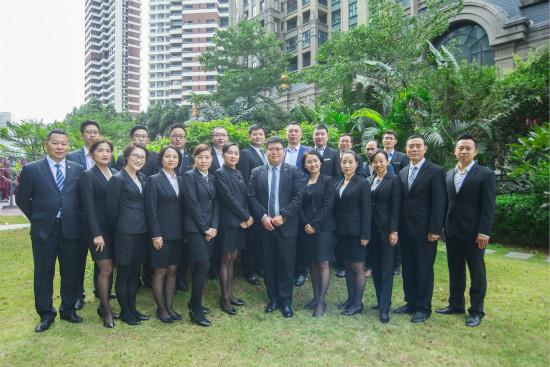 酒管公司在东莞万达文华酒店举办华经理人培训