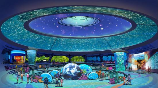 重庆万达茂水乐园海洋乐园单体方案签确