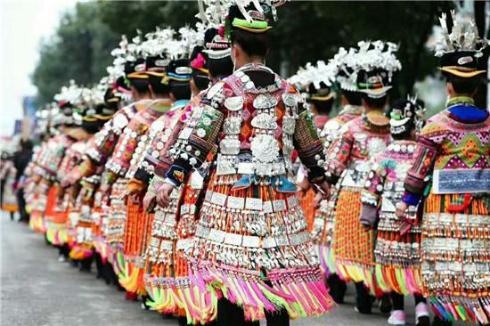 """丹寨万达小镇举办""""颂贾祭尤""""大型苗族传统民俗活动"""