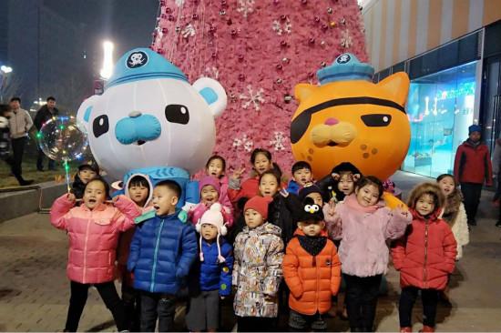 大连区域宝贝王朝阳乐园举办儿童冬季室外体育活动