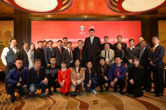 武漢萬達漢秀舉辦2019籃球世界杯吉祥物選拔盛典