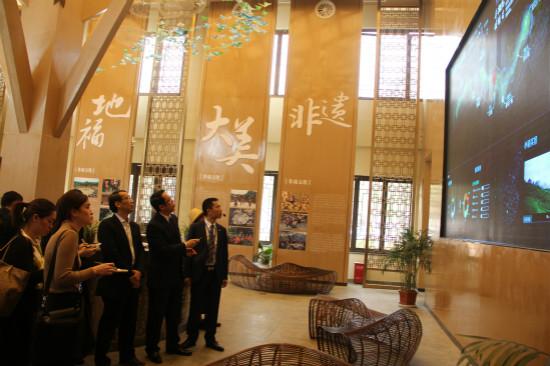 泰国驻华大使一行考察丹寨万达小镇