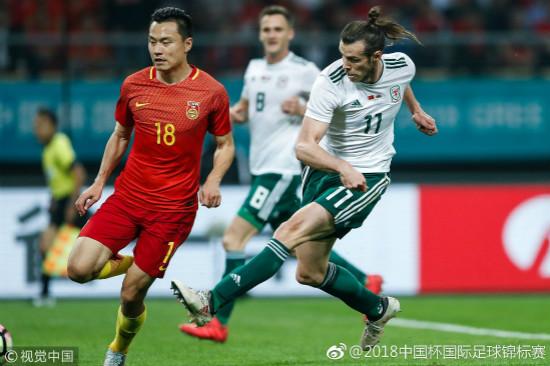 """2018""""中国杯""""揭幕 中国队0:6负于威尔士"""
