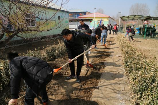 集团党委和人力系统组织春季义工活动