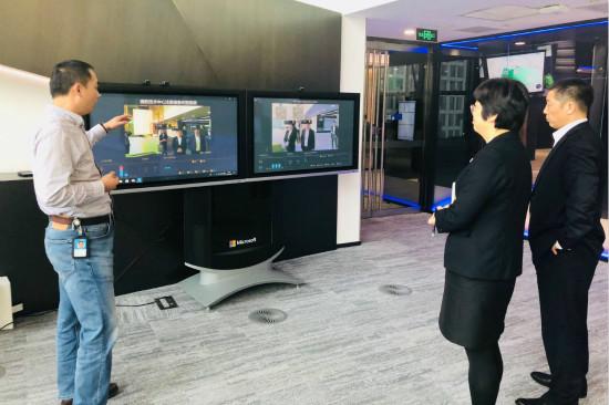 文旅院组织参观北京微软技术演示中心