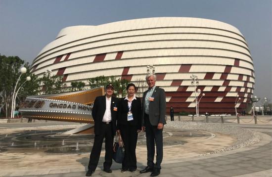 国际主题娱乐协会受邀参观青岛万达电影乐园