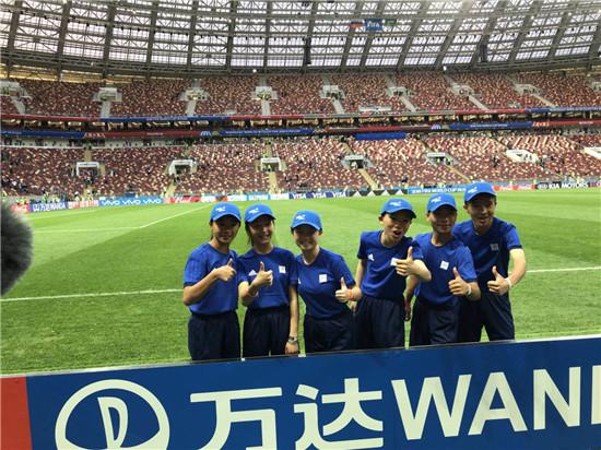 丹寨6名护旗手闪亮世界杯揭幕战