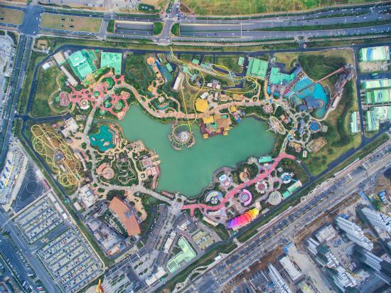 合肥万达室外乐园完成项目品质提升设计移交