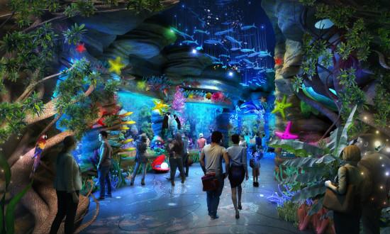 济南万达海洋乐园包装方案确定