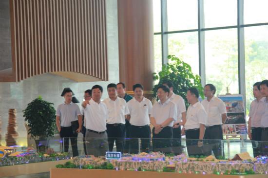 广西自治区党委组织部部长考察桂林万达城雁山项目