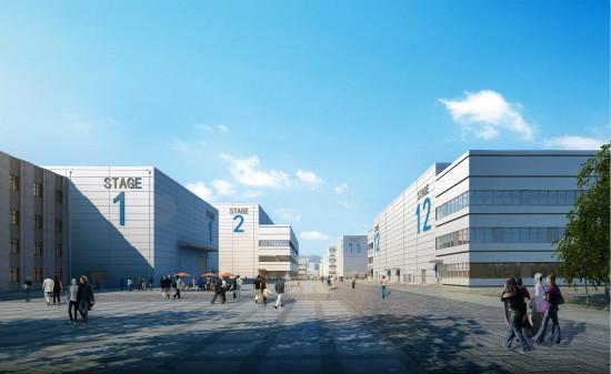青岛影视产业园一期慧云系统通过联合验收