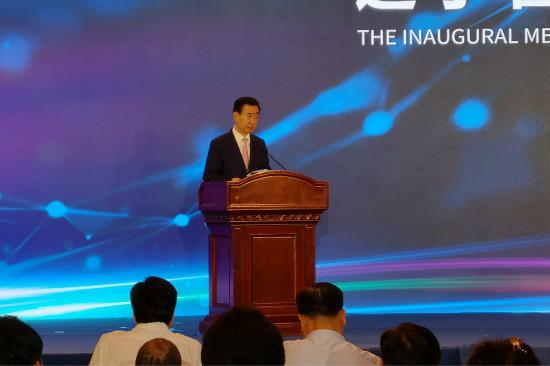 王健林董事长受邀担任辽商总会名誉会长 在成立大会致辞