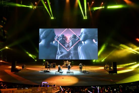 DREAM ROCK演唱会在汉秀剧场开唱