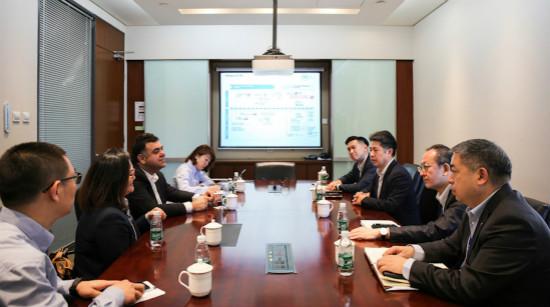 商管总裁齐界会见汉堡王(中国)土耳其公司董事会主席