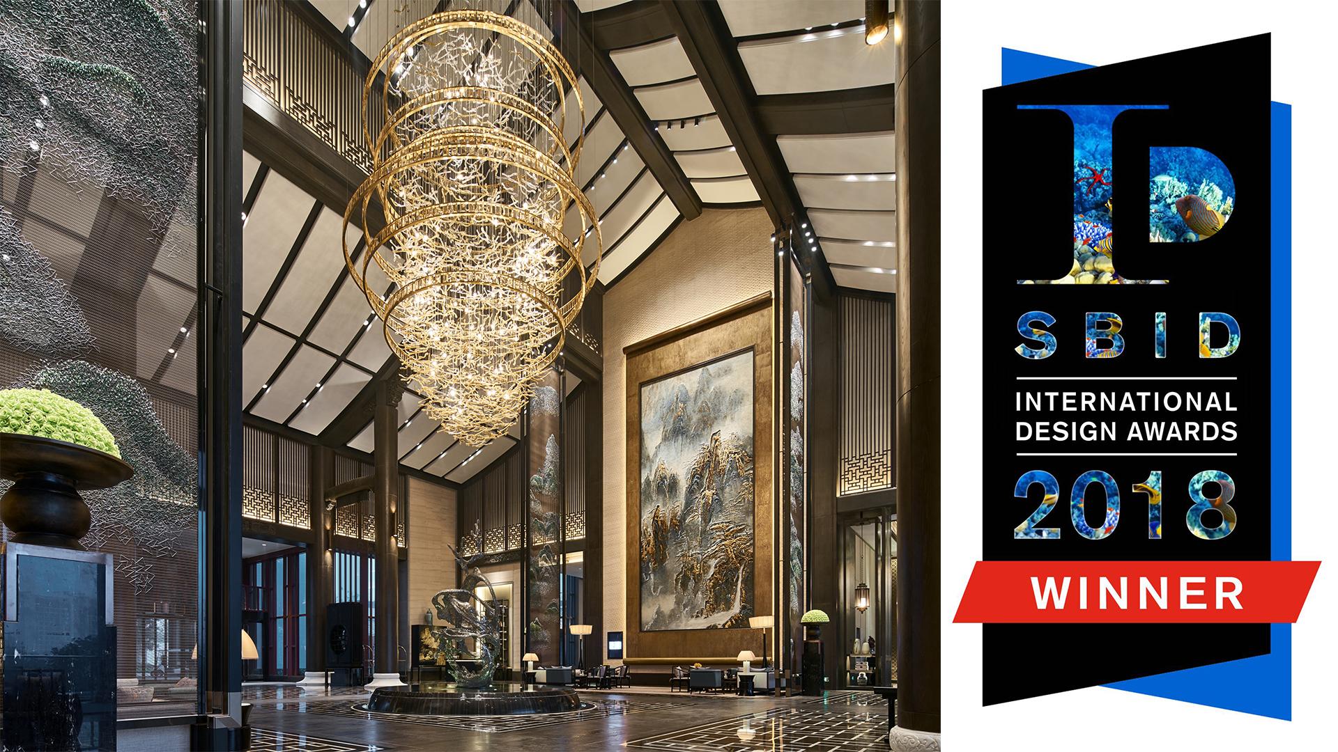 万达酒店获英国国际设计协会多项国际设计大奖