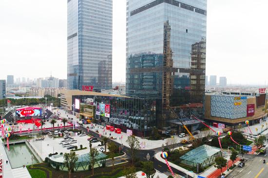 张家港万达广场开业
