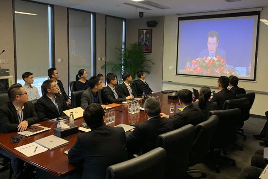 酒管公司组织学习王健林董事长年会报告