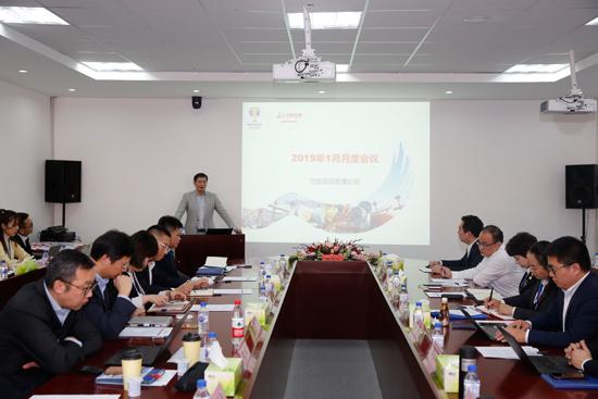 文旅项目管理公司学习王健林董事长年会报告
