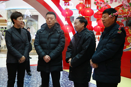 黑龙江绥化市委书记曲敏考察绥化万达广场