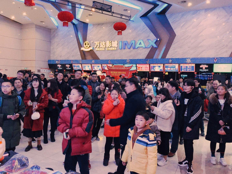 万达电影占春节档全国票房前100影城半壁江山