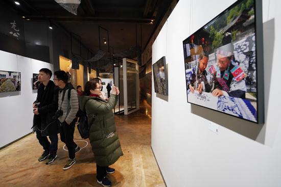 云上丹寨影像展馆揭幕 举办摄影月赛作品展