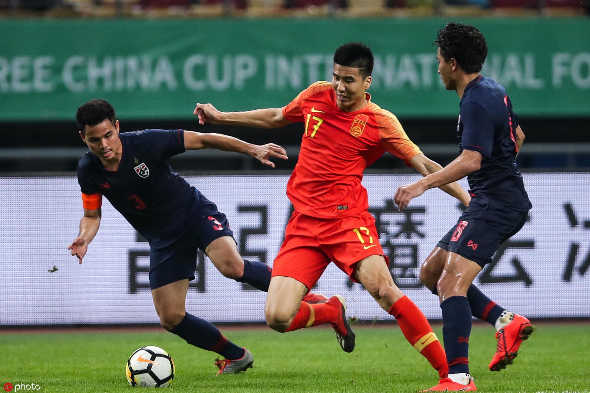 2019格力·中国杯国际足球锦标赛在南宁开战