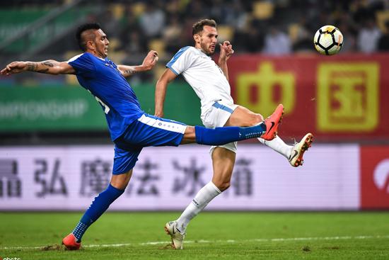 """2019""""格力·中国杯""""半决赛结束 乌拉圭3:0乌兹别克"""