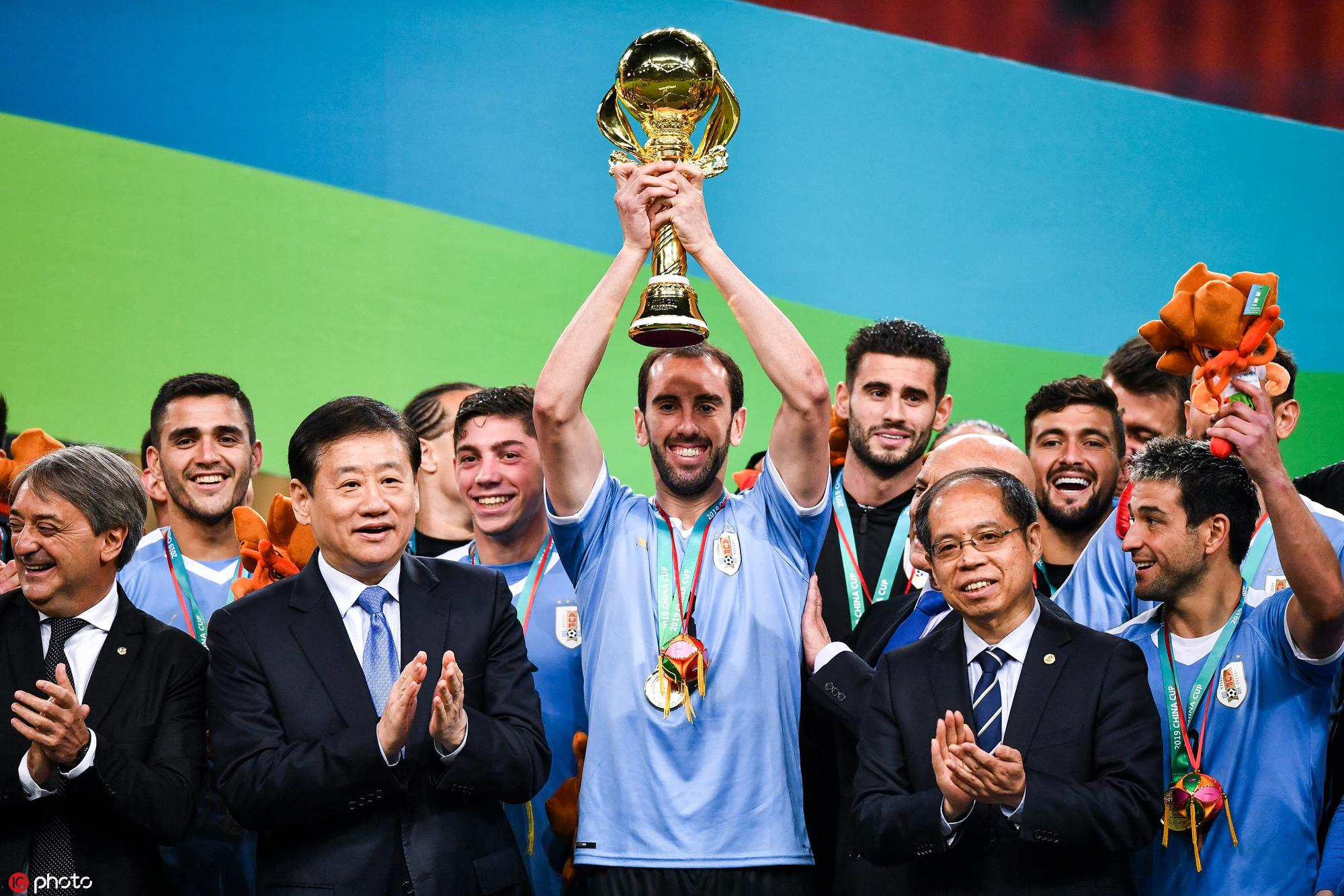 2019格力·中國杯國際足球錦標賽在南寧圓滿落幕