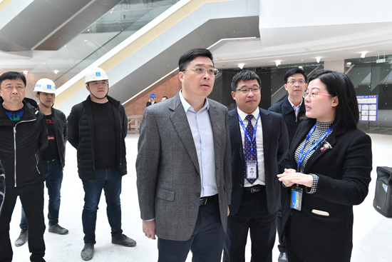广西玉林市市长韦韬考察玉林万达广场