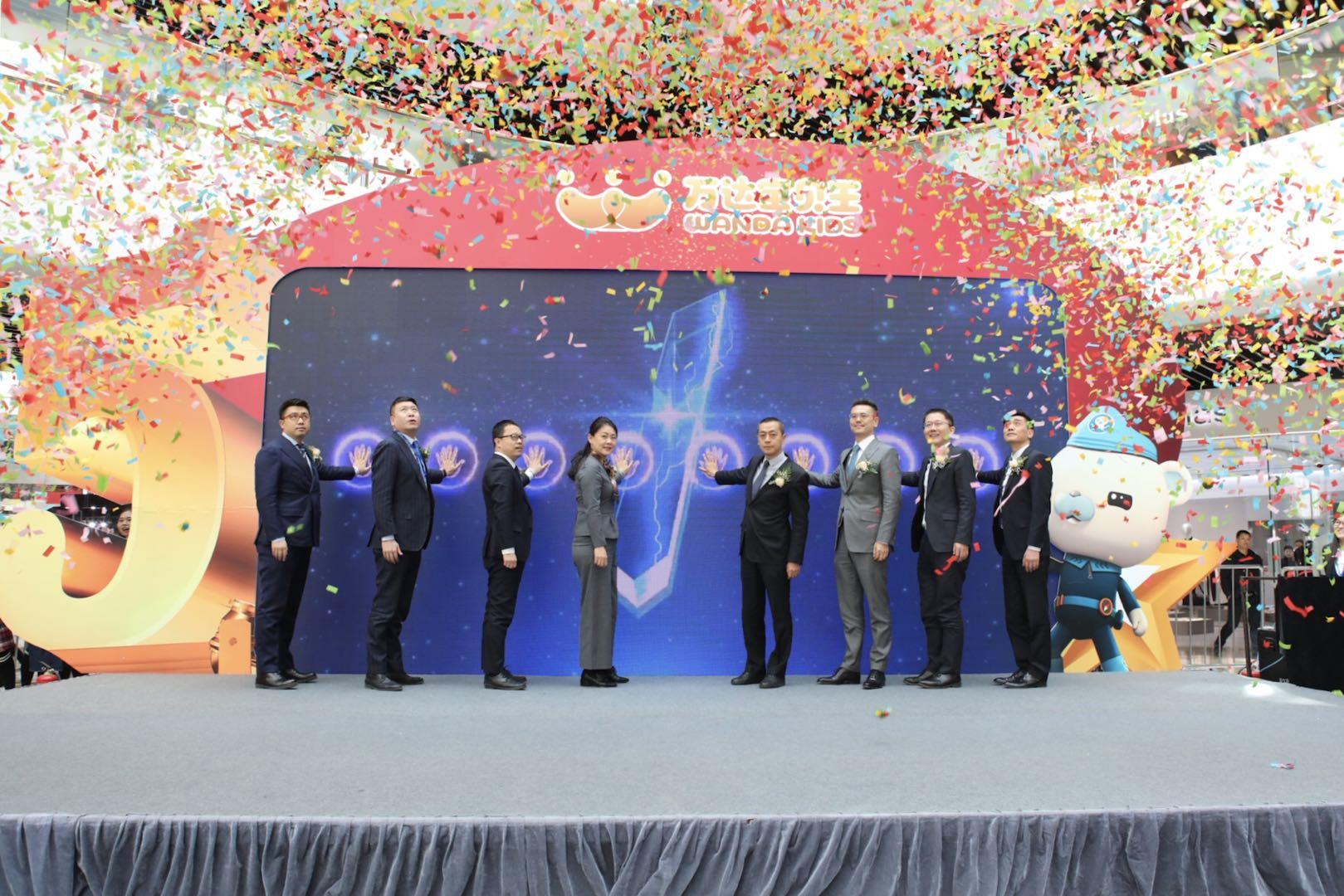 万达宝贝王全国举办五周年品牌庆典活动