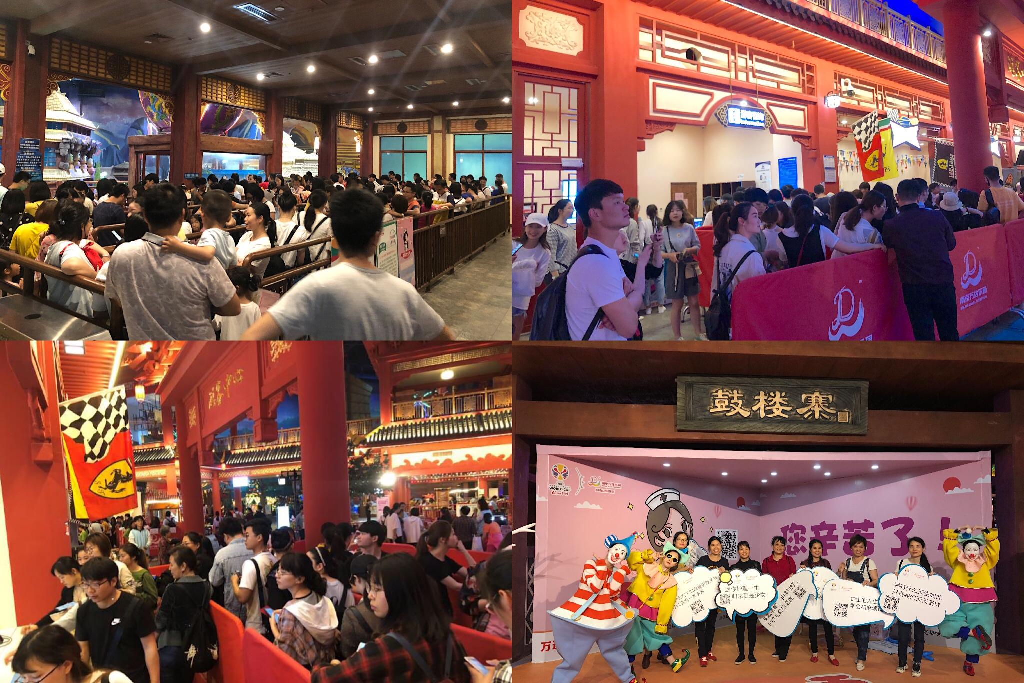 南京、南宁万达乐园举办国际护士节感恩活动