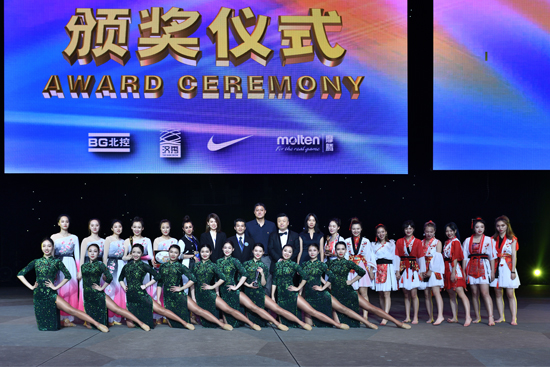 2019FIBA篮球宝贝选拔赛武汉站在汉秀举行