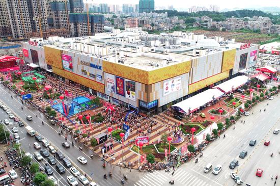 汕头金平、广西玉林两座万达广场同日开业