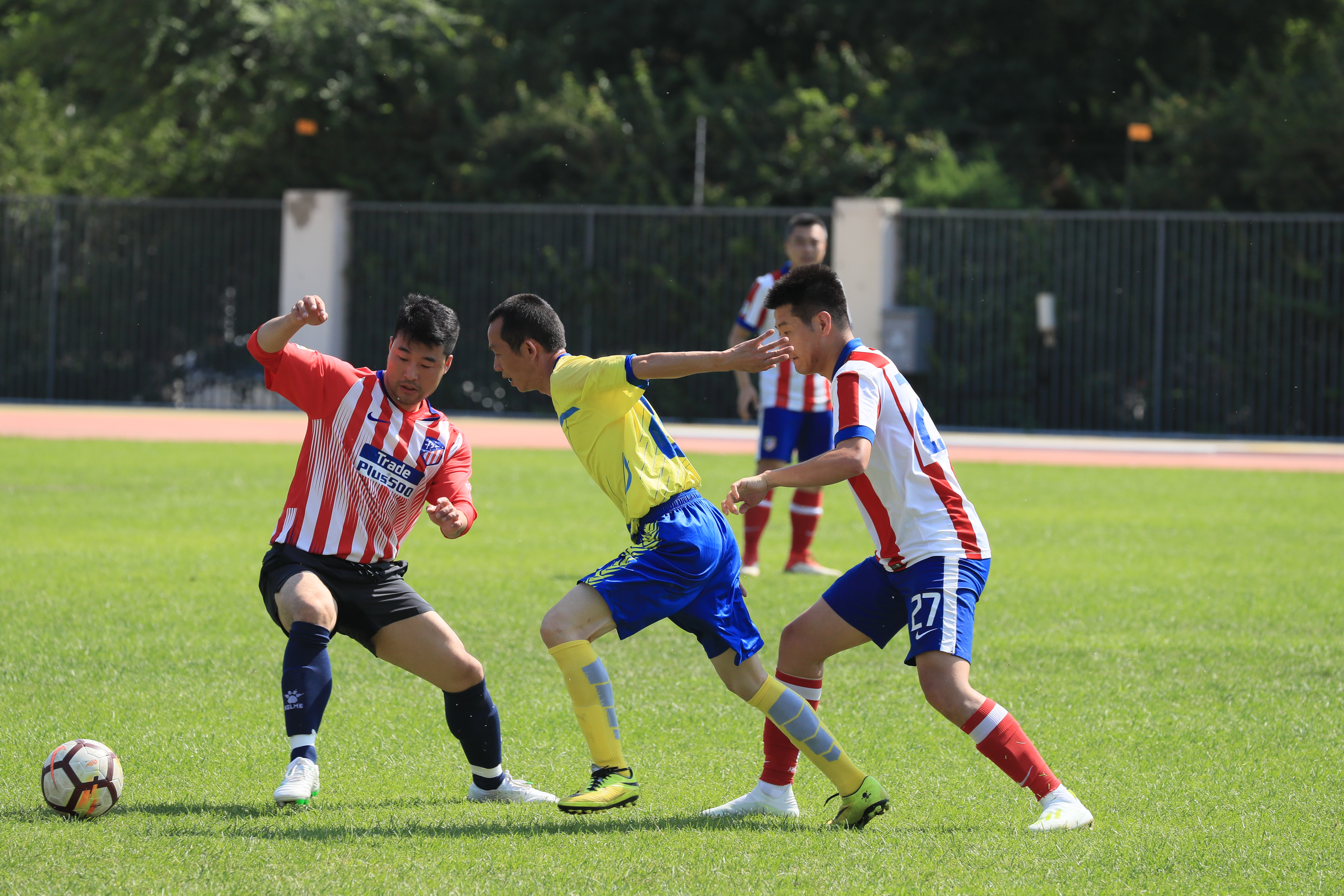 万达集团第四届全国职工足球联赛第四周比赛结束