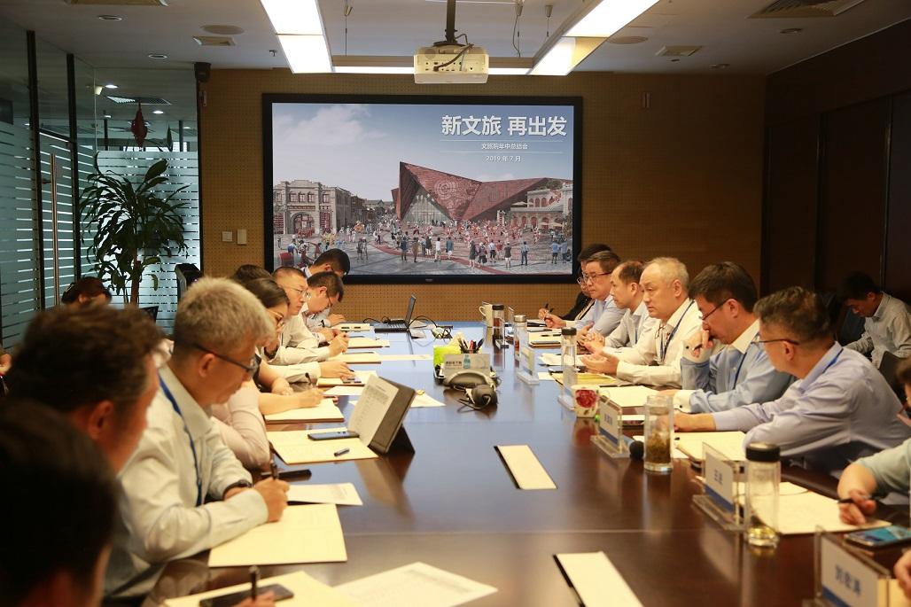 万达文旅规划院召开年中总结会