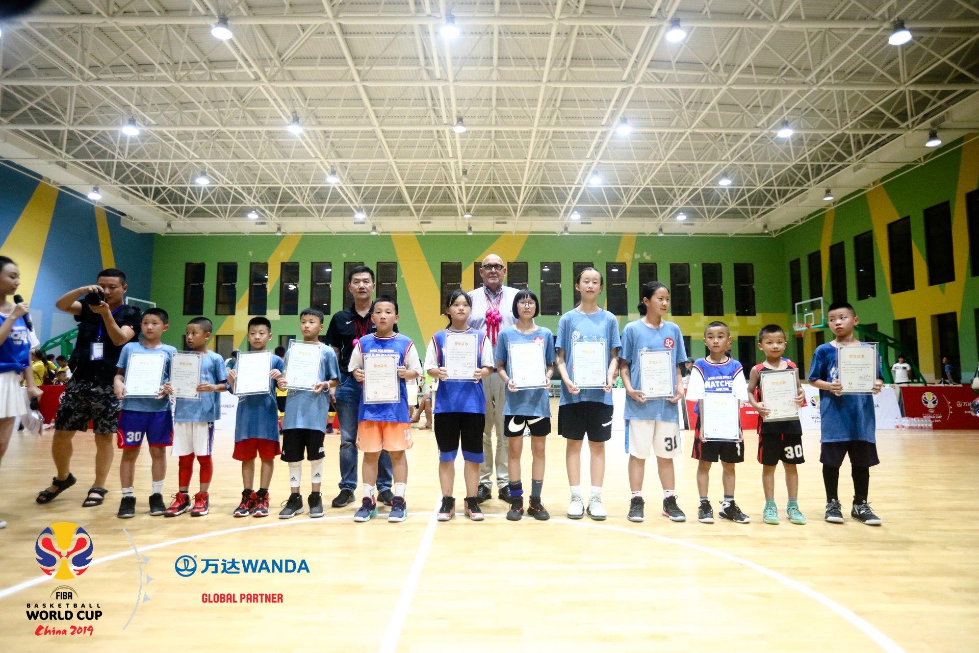 篮球世界杯小冠军丹寨大比拼 36名小冠军将亮相世界杯赛场