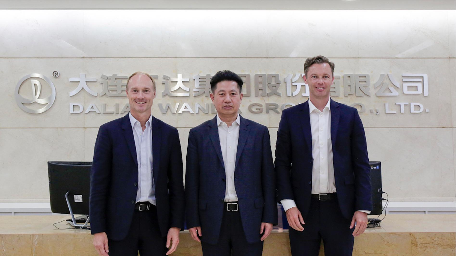 金沙网站下载app总裁齐界会见H&M全球CEO弗雷德里克·奥尔森