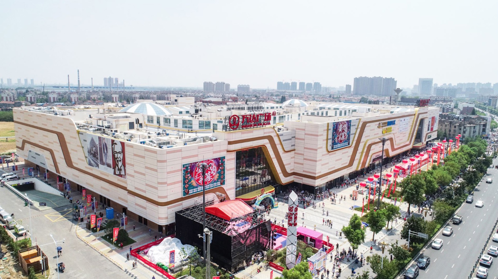安徽滁州万达广场开业 推出两大主题街区