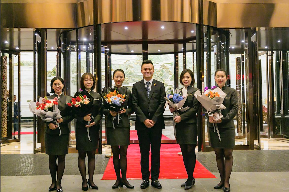 武汉万达瑞华酒店接待国际足联主席及泰国公主