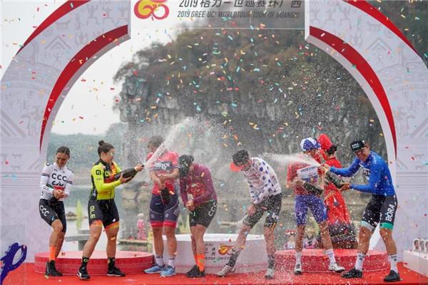 馬斯登頂廣西,收獲職業生涯首個總成績冠軍!