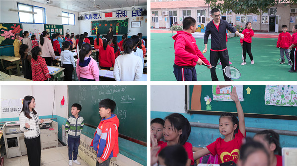 yabo88义工在大兴行知学校常设多个爱心课堂