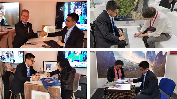 世界旅游交易会丹寨签约8家海外旅行社